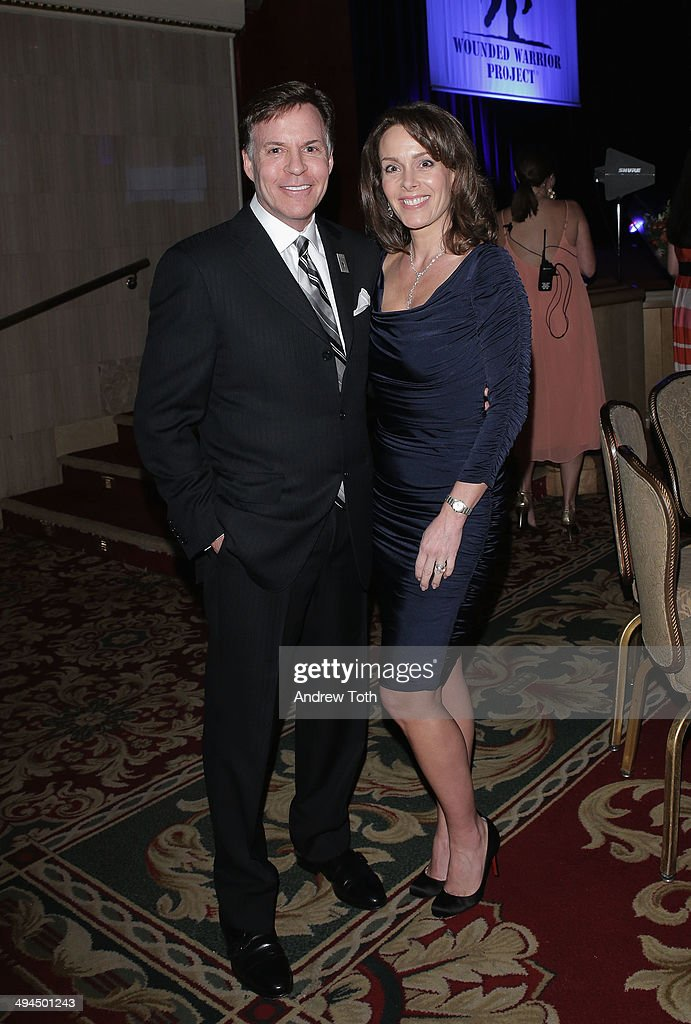 American sportscaster and honoree Bob Costas (L) and Jill Sutton attend the 9th annual Wounded Warrior Project Courage Awards & Benefit Dinner at The Waldorf=Astoria on May 29, 2014 in New York City.
