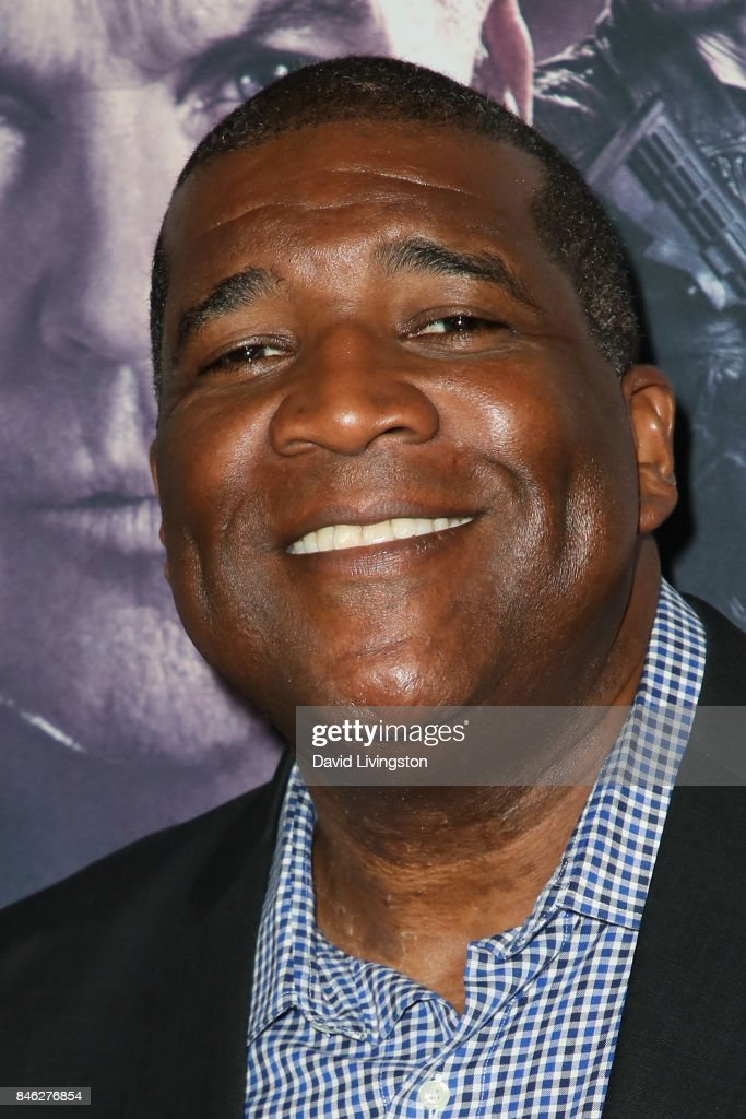 American sportscaster Curt Menefee attends a Screening of CBS Films and Lionsgate's 'American Assassin' at TCL Chinese Theatre on September 12, 2017 in Hollywood, California.