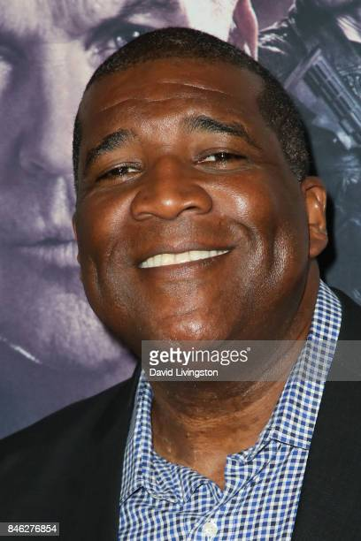American sportscaster Curt Menefee attends a Screening of CBS Films and Lionsgate's 'American Assassin' at TCL Chinese Theatre on September 12 2017...