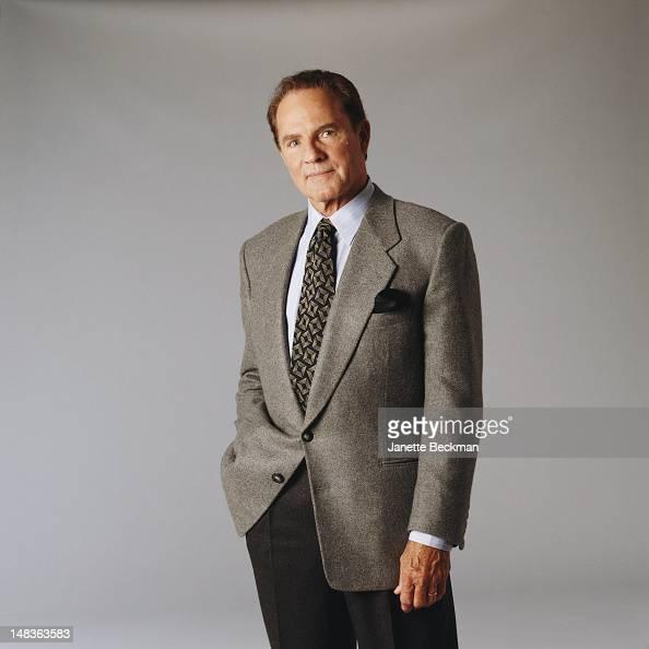 American sportscaster Frank Gifford New York City 1995