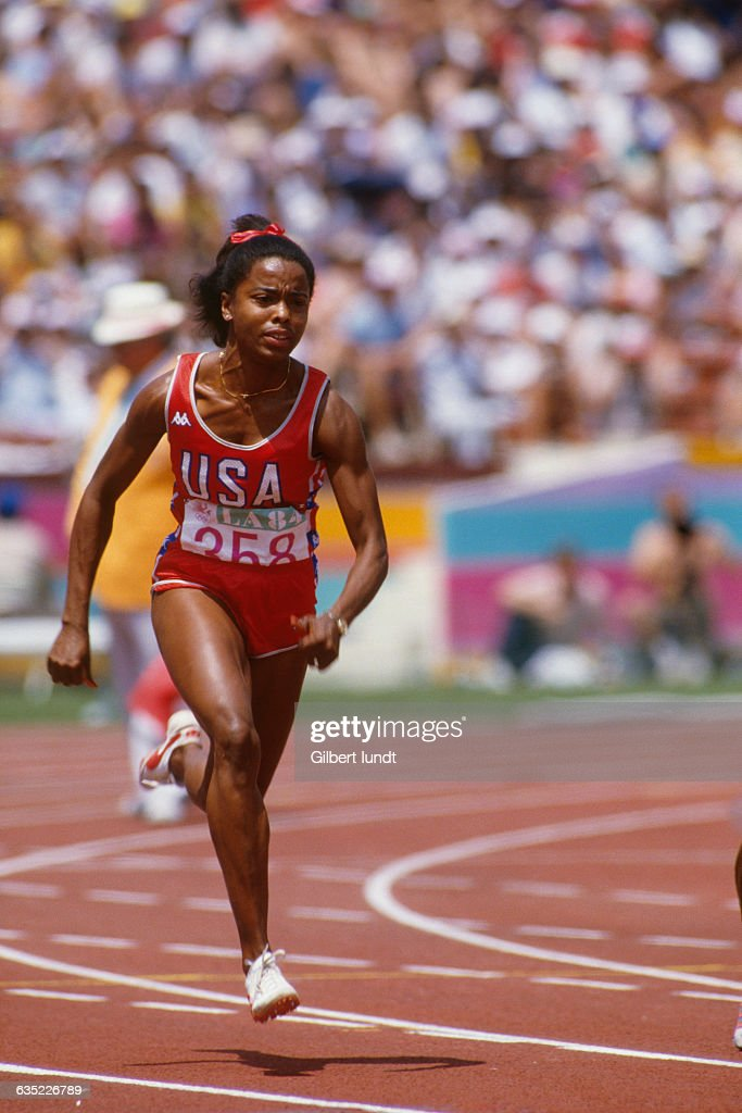 Ashford competes in the women s 100 meter sprint at the olympic games