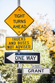 American street signs