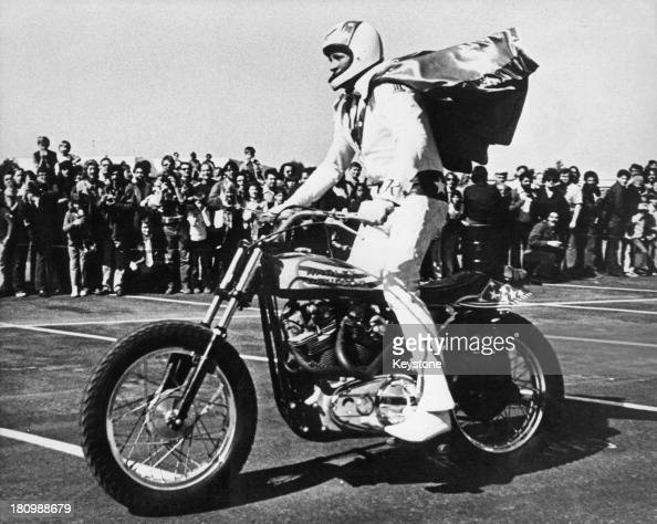 Evel Knievel Harley Davidson Chopper Photograph By Frank: Harley Davidson Stock Photos And Pictures