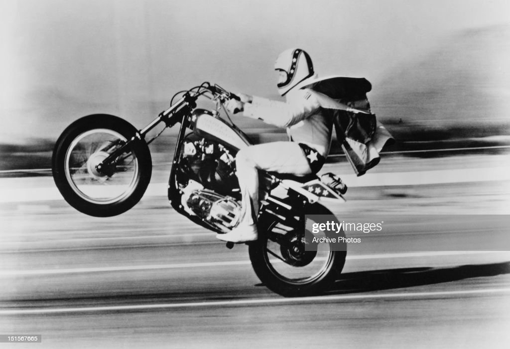 Evel Knievel S 1976 Harley Davidson Xl1000 Motorcycle: Getty Images