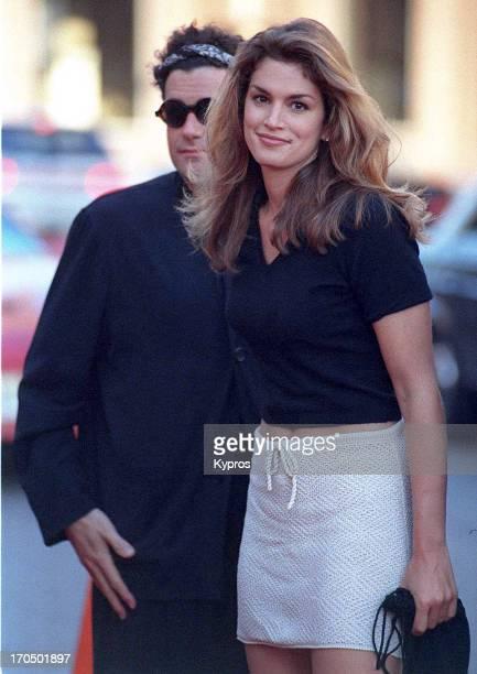American supermodel Cindy Crawford circa 1990