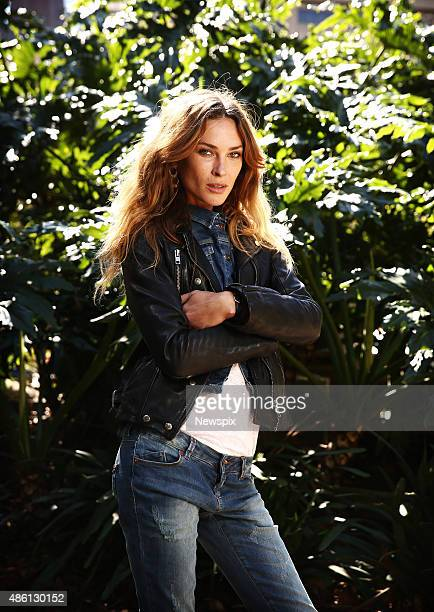 American supermodel Erin Wasson pictured at Hyde Park in Sydney New South Wales