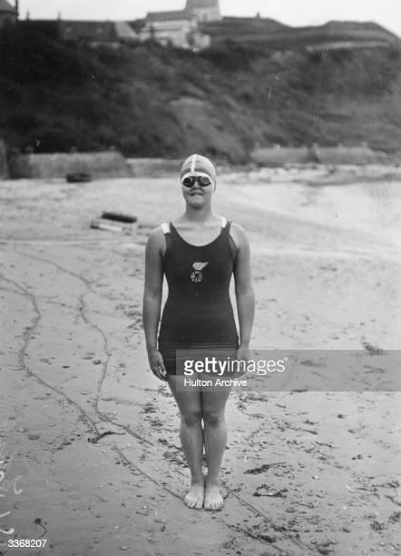 biography caroline gertrude ederle Noun 1 gertrude ederle - united states swimmer who in 1926 became the first  woman to swim the english channel ederle, gertrude caroline ederle.
