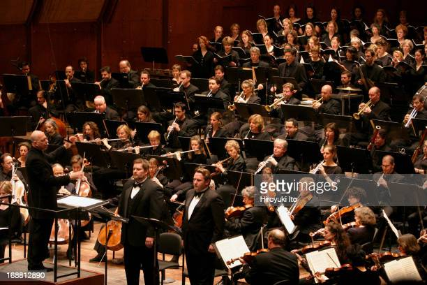 American Symphony Orchestra presents 'Richard Strauss Choral Works' at Avery Fisher Hall on Sunday afternoon April 17 2005This imageLeon Botstein...