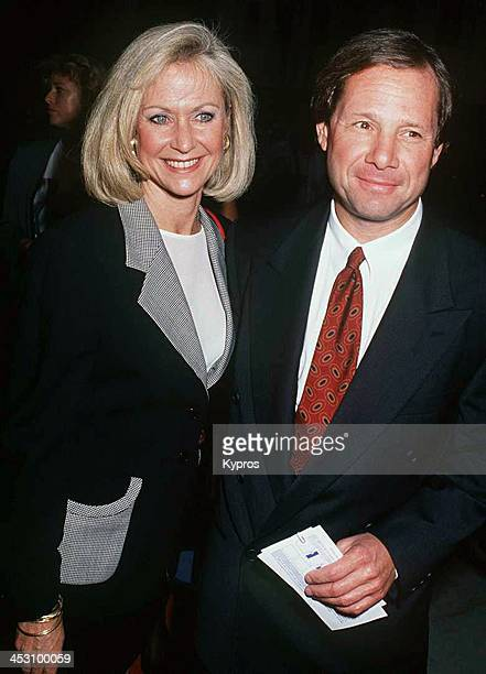 American talent agent Michael Ovitz with his wife Judy circa 1992