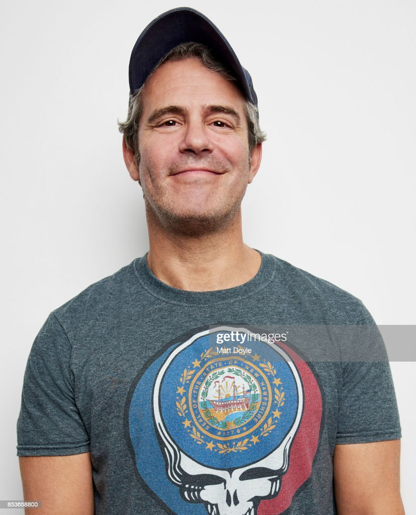 American talk show and radio host, author and producer Andy Cohen pose for a portrait at the Tribeca TV festival at Cinepolis Chelsea on September 22, 2017.