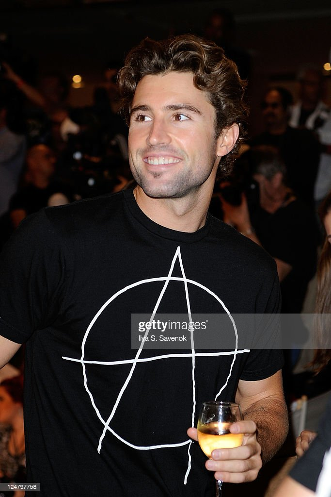 American television personality Brody Jenner attends the Abbey Dawn by Avril Lavigne Spring 2012 fashion show during Style360 at the Metropolitan Pavilion on September 12, 2011 in New York City.