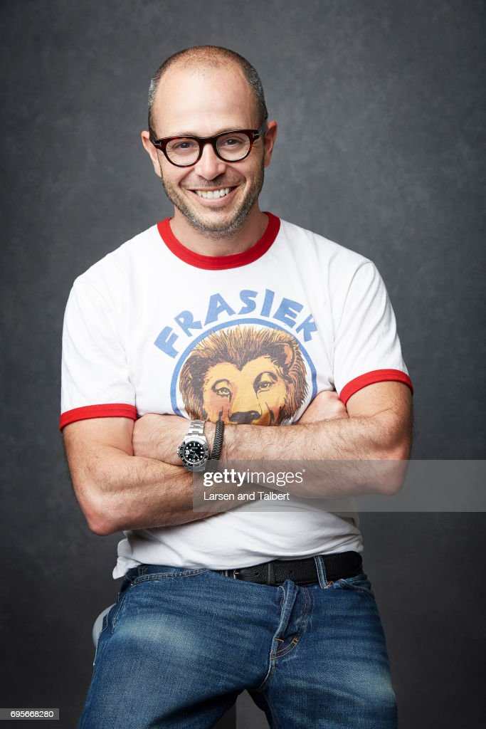 American television writer Damon Lindelof is photographed for Entertainment Weekly Magazine on June 9, 2017 in Austin, Texas.