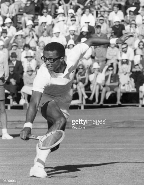 American tennis player Arthur Ashe Original Publication People Disc HF0722