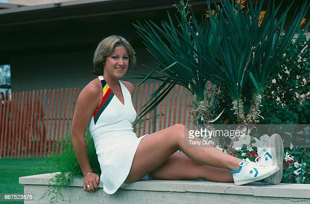 American tennis player Chris Evert Palm Springs California November 1976