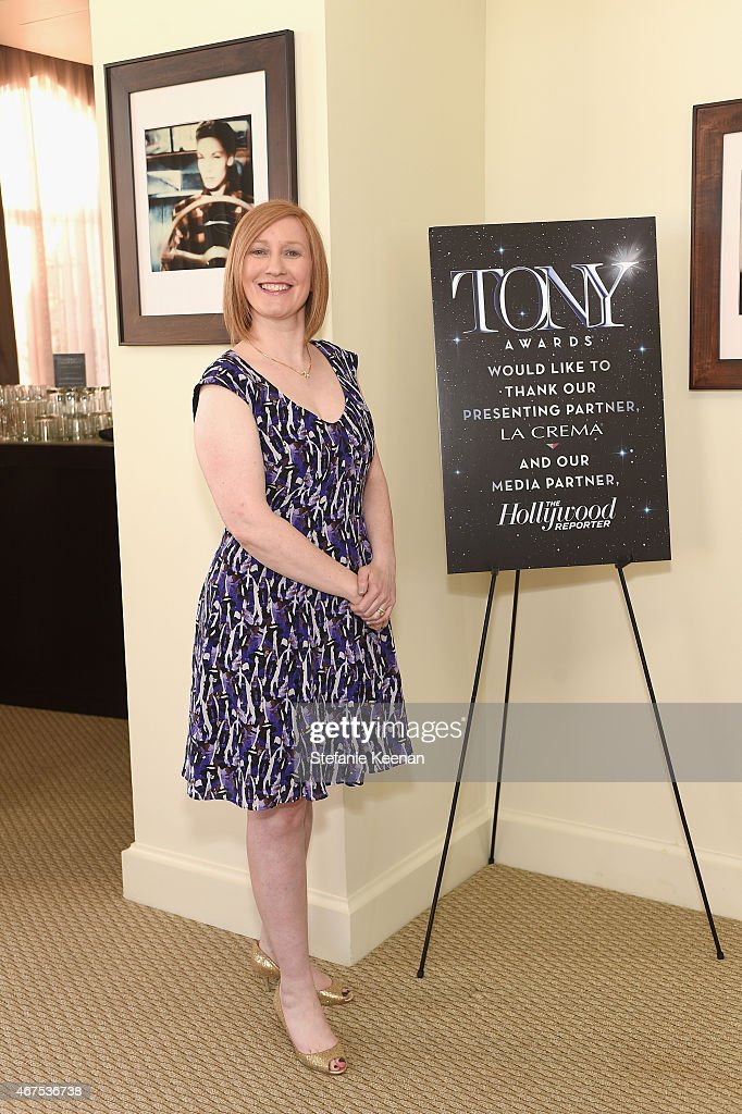 American Theatre Wing President Heather Hitchens attends The Tony Awards celebration of Broadway in Hollywood at Sunset Towers on March 25, 2015 in West Hollywood, California.