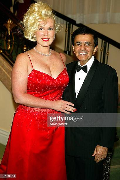 American Top 40 host Casey Kasem and his wife Jean arrive at The Museum of Television Radio's annual Los Angeles Gala at the Beverly Hills Hotel on...