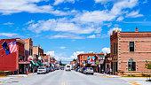 American town - Red Lodge, Montana, USA
