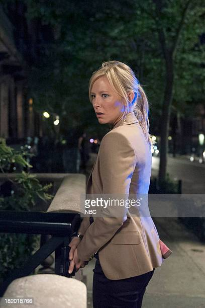 UNIT 'American Tragedy' Episode 1503 Pictured Kelli Giddish as Detective Amanda Rollins