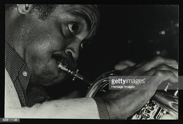 American trumpet and flugelhorn player Art Farmer at The Bell Codicote Hertfordshire 11 September 1983 Artist Denis Williams