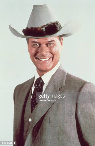 American TV and film actor Larry Hagman best known for his role as JR in Dallas 1985