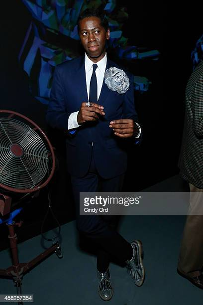 American TV personality and runway coach J Alexander attends the closing reception during the 17th Annual Savannah Film Festival on November 1 2014...