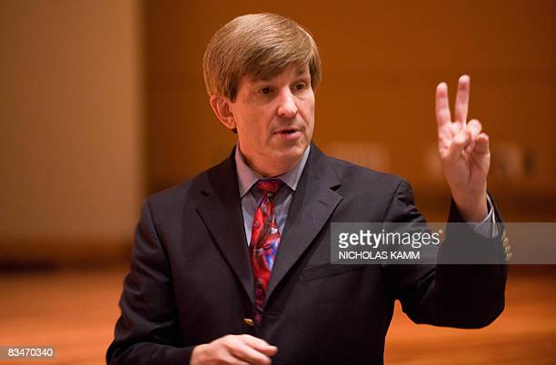 RESEARCH == American University history professor Allan Lichtman gives a lecture on his 'Thirteen Keys to the White House' at American University in...