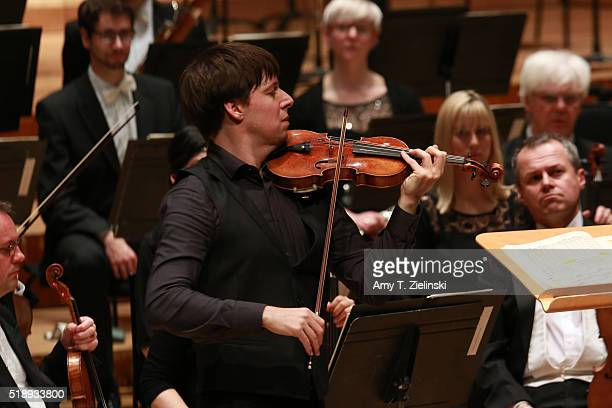 American violinist Joshua Bell plays the Tchaikovsky Violin Concerto as American conductor Alan Gilbert leads the London Symphony Orchestra at...