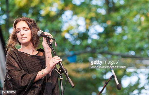 American vocalist Haley Dekle performs at Central Park SummerStage New York New York June 22 2014