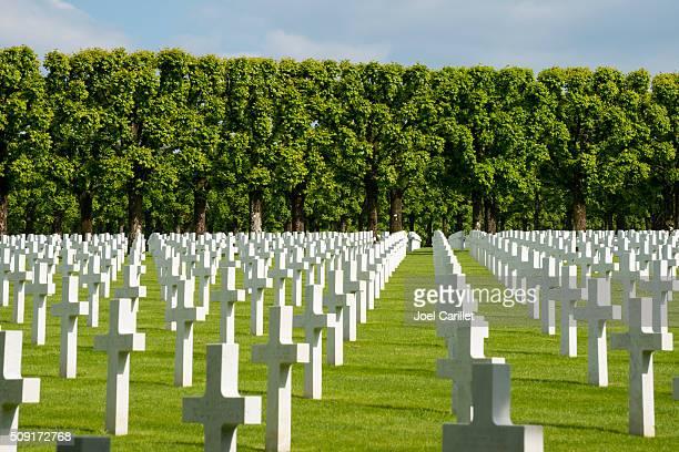 Américain cimetière de la Première Guerre mondiale, en France