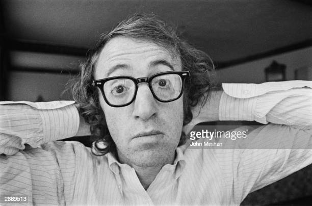 American writer actor and film director Woody Allen