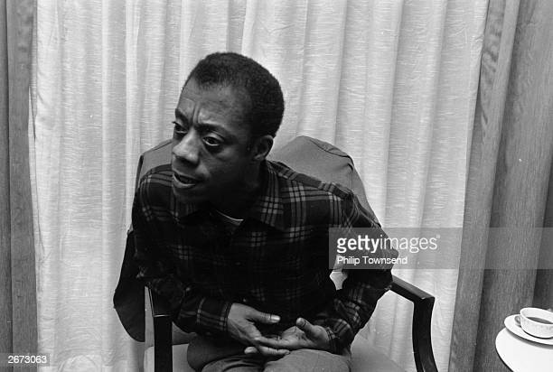 American writer and Civil Rights activist James Baldwin