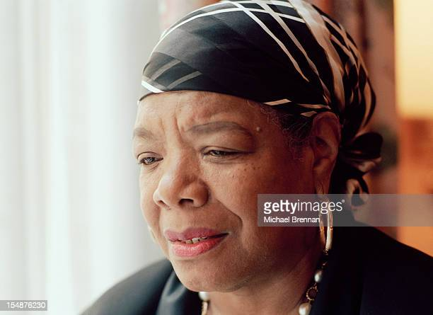 American writer and poet Maya Angelou in New York City April 1994