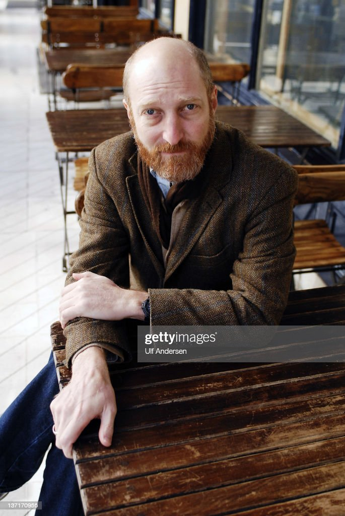 PARIS, FRANCE - JANUARY 12. American writer <a gi-track='captionPersonalityLinkClicked' href=/galleries/search?phrase=Jonathan+Ames&family=editorial&specificpeople=702105 ng-click='$event.stopPropagation()'>Jonathan Ames</a> poses during a portrait session held on January 12, 2012 in Paris, France.