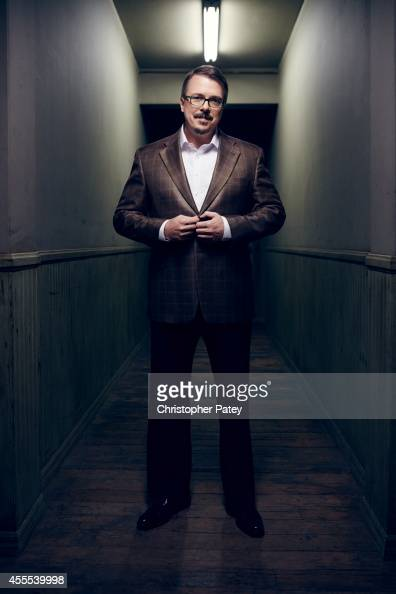 American writer producer and director Vince Gilligan is photographed for The Hollywood Reporter on April 17 2014 in Los Angeles California