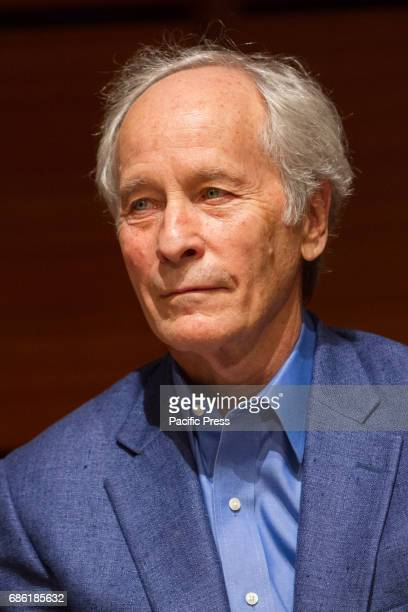 American writer Richard Ford portrayed during 2017 Turin Book Fair