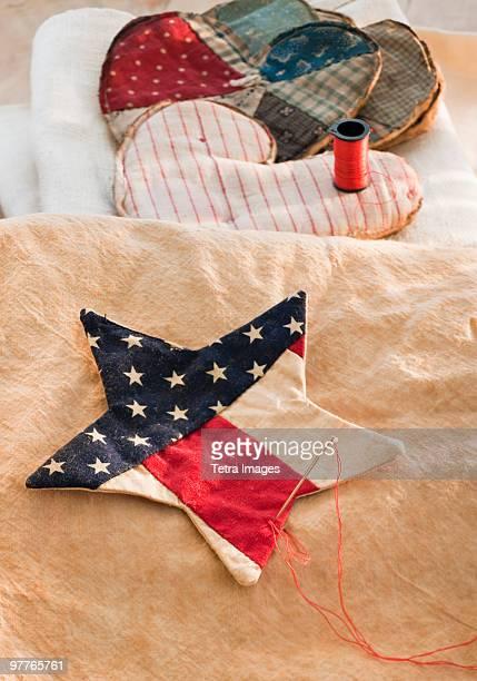 Americana patchwork star