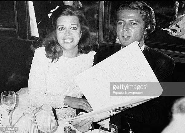 Americanborn shipping heiress Christina Onassis the daughter of Greek shipping tycoon Aristotle Onassis and her husband French pharmeceutical heir...