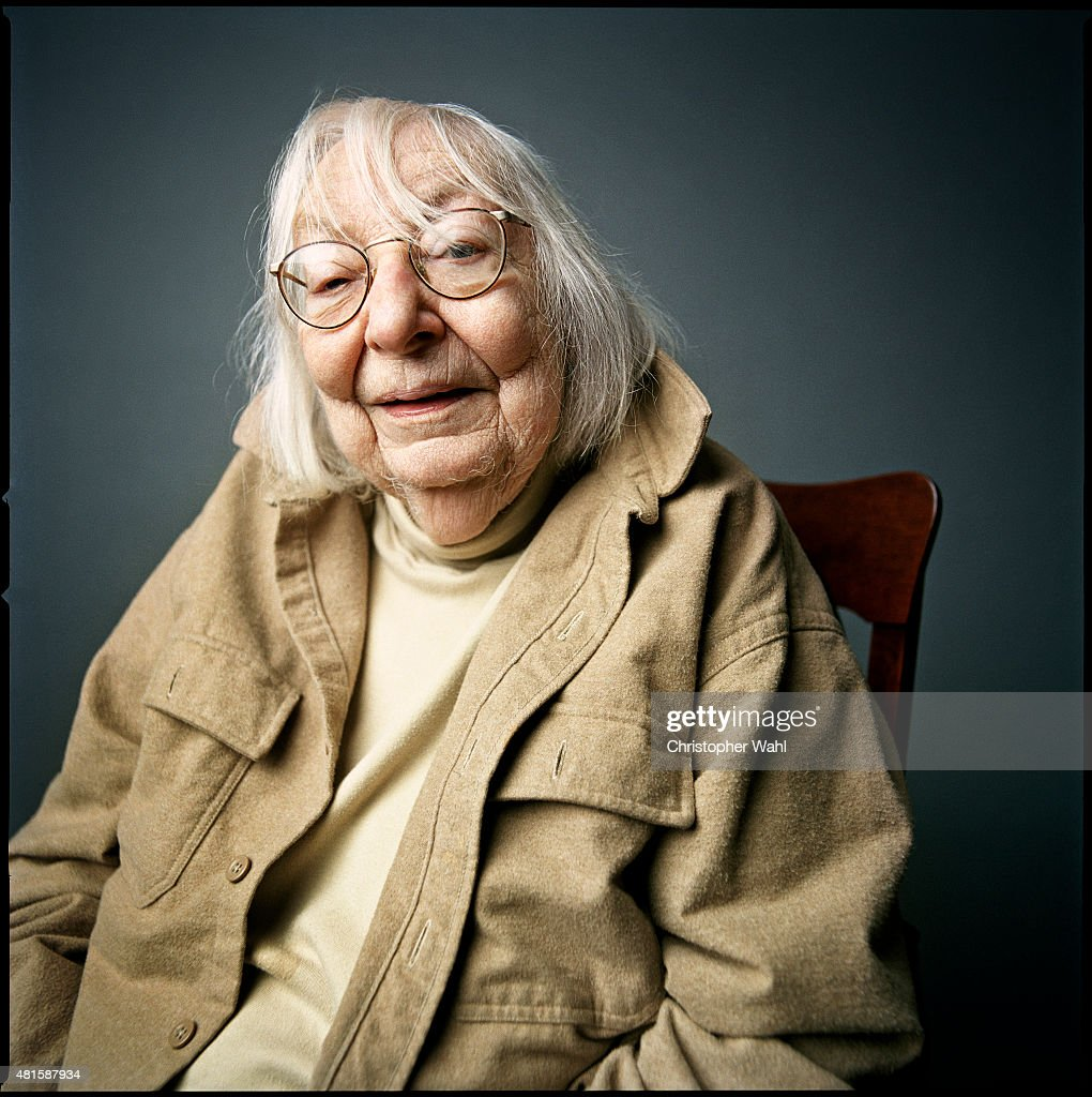 American-Canadian journalist, author, and activist <a gi-track='captionPersonalityLinkClicked' href=/galleries/search?phrase=Jane+Jacobs&family=editorial&specificpeople=1014340 ng-click='$event.stopPropagation()'>Jane Jacobs</a> is photographed for Metropolis on May 1, 2005 in Toronto, Ontario.