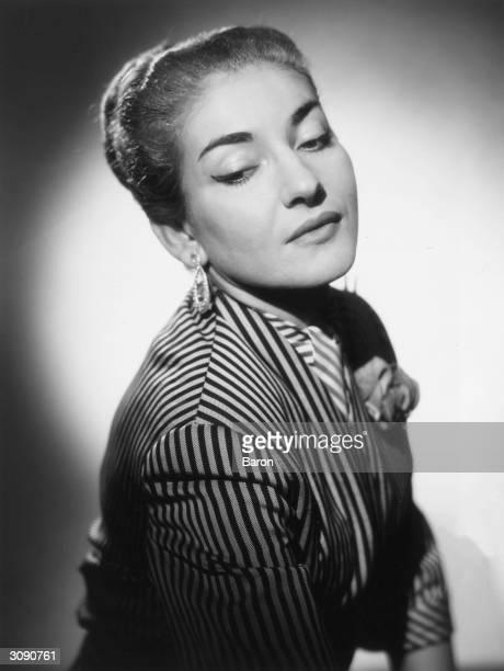 AmericanGreek soprano Maria Anna Sofia Cecilia Kalogeropoulos who sang under the name of Maria Callas