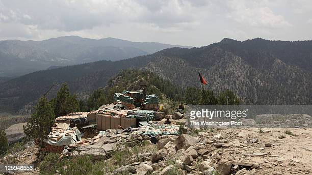 Americans share a small observation post with Afghan soldiers in a rugged stretch of Paktika Province near the Pakistani border US officers are...