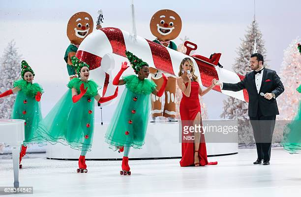 S GOT TALENT 'America's Got Talent Christmas Special' Pictured Heidi Klum Sal Valentinetti