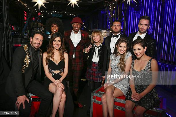 S GOT TALENT 'Americas Got Talent Holiday Spectacular' Pictured Edgar Ronee Martin Nick Cannon Grace VanderWaal Sal Valentinetti Brian Justin Crum...