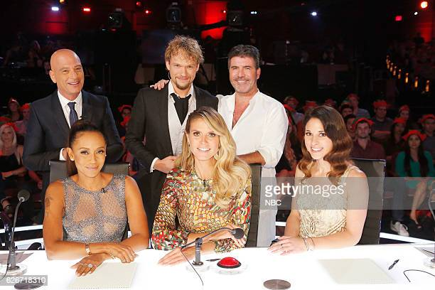 S GOT TALENT 'America's Got Talent Holiday Spectacular' Pictured Howie Mandel Mel B Heidi Klum Simon Cowell The Clairvoyants