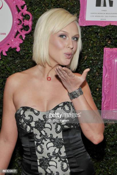 America's Next Top Model 2007 winner CariDee English arrives at the Catch Boutique Launch at The Mark on April 30 2009 in Los Angeles California