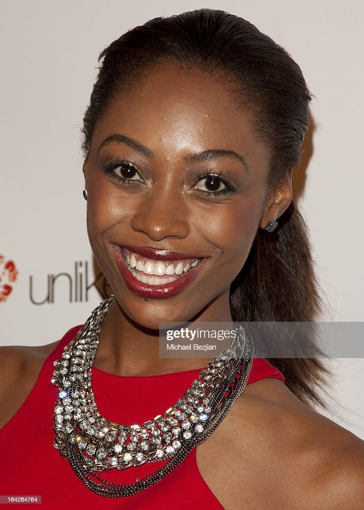 'America's Next Top Model' contestant Brittney 'ShaRaun' Brown attends 'Love Is Heroic' - The Unlikely Heroes Annual Spring Benefit at W Hollywood on March 21, 2013 in Hollywood, California.