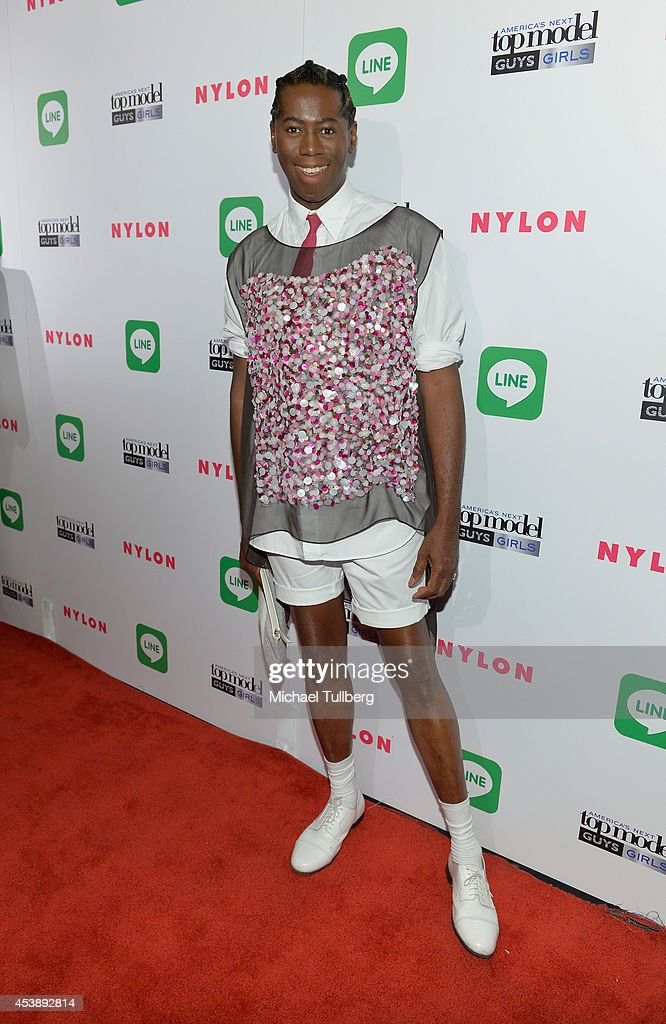 'America's Next Top Model judge <a gi-track='captionPersonalityLinkClicked' href=/galleries/search?phrase=J.+Alexander&family=editorial&specificpeople=698504 ng-click='$event.stopPropagation()'>J. Alexander</a> attends the premiere party for Cycle 21 of 'America's Next Top Model' presented by NYLON magazine and the LINE messaging app at SupperClub Los Angeles on August 20, 2014 in Los Angeles, California.