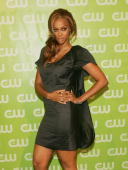 'America's Next Top Model' television show host Tyra Banks attends The CW Network Upfront at Madison Square Garden May 17 2007 in New York City