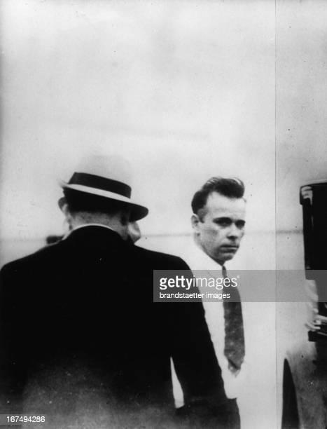 Americas 'Public Enemy Nr 1 ' John Dillinger at his last arrestment in Tucson 1934 United States Photograph Amerikas 'öffentlicher Feind Nr1' John...