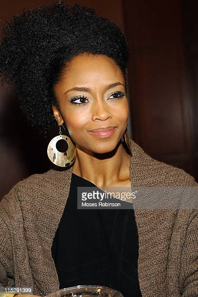 America's Top Model Yaya DaCosta at the screening of HONEYDRIPPER a celebration for Hands on Atlanta and The Martin Luther King Jr Summit 2008 Held...