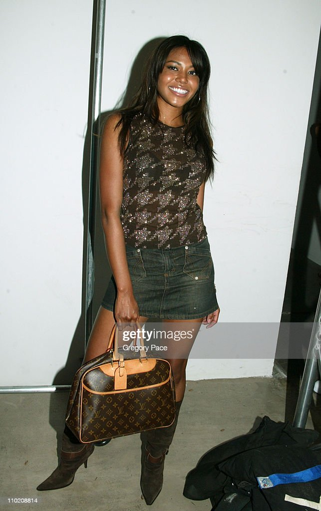 Olympus Fashion Week Spring 2005 - Baby Phat - Backstage and Front Row